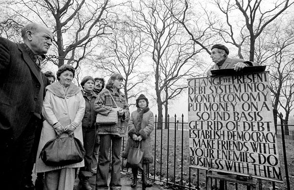 Hyde Park Corner 1978 - Photographie Thierry Dehesdin