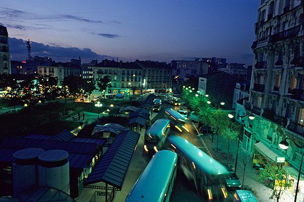 Place de la Mairie - Issy les Moulineaux - Thierry Dehesdin