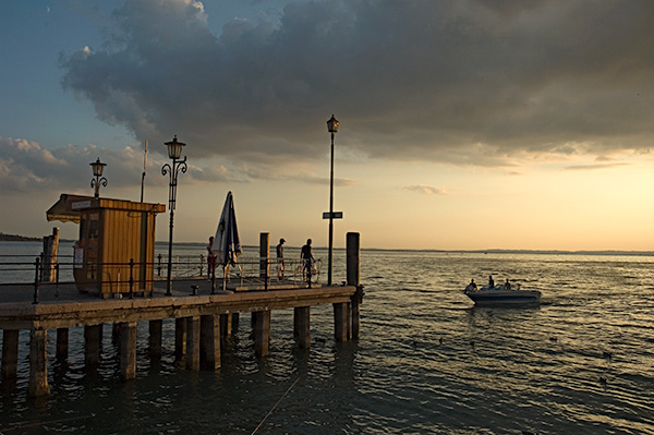 Le lac de Garde Photographie Thierry Dehesdin