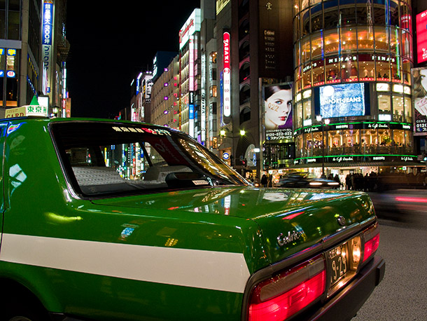Canon G3 - 50 Iso - Ginza - Photographie Thierry Dehesdin