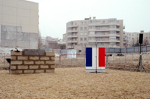 La médiathèque centre-ville:  Pose de la première pierre - période 1989-1994